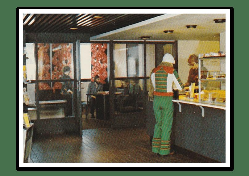 Arkivbild som visar UH gamla bibliotek